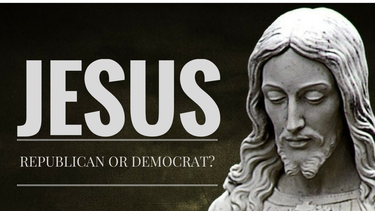 Image result for is jesus a republican or democrat